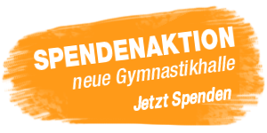 Gymnastikhalle Spendenaktion